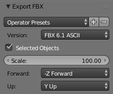 3D model export and setup tips using popular 3D tools