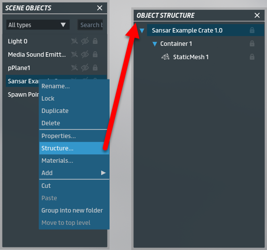 Object editing – Sansar   Help - Support, Community Forums, and